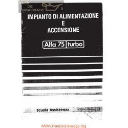 Alfa Romeo 75 Turbo Ignition Fuel It