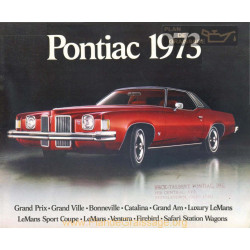 Pontiac Car Dealer 1973