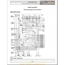 Pontiac Fiero Wiring Diagrams 1984