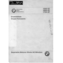 Bmw 1300 1700 1600 Gt Erasarzteillliste Gruppe Karosserie