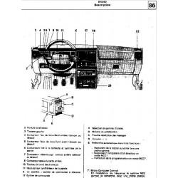Renault 11 Manuel Electronique