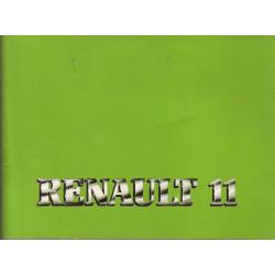 Renault 11 Manuel Utilisation Entretien
