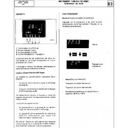 Renault 11 Ordinateur De Bord