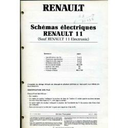 Renault 11 Schemas Electrique Mod86