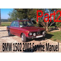 Bmw 1502 2002 Service Manuel Part2