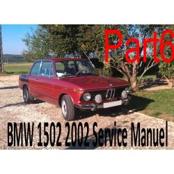 Bmw 1502 2002 Service Manuel Part6