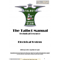 Talbot G3 Electrical System