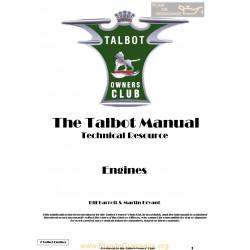 Talbot G7 Engine Service