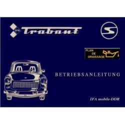 Trabant 601 S Luxe Handbuch