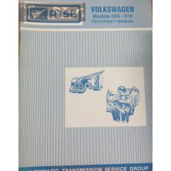 Volkswagen 003 010 Techtran Transmission Manual