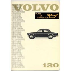 Volvo 120 Owners Handbook 1967