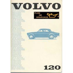 Volvo 120 Owners Handbook 1968