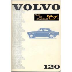 Volvo 120 Owners Handbook 1969