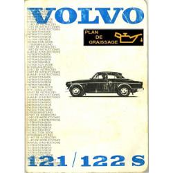 Volvo 121 122 S Owners Handbook 1966