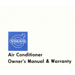 Volvo 140 160 122 180 Air Conditioner Manual