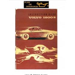Volvo 1800 S Instruction Book 1967