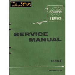 Volvo 1800e Service Manual