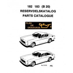 Volvo 182 183 Later B20 P1800 Exploded Views