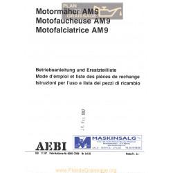 Aebi Am9 Motofaucheuse