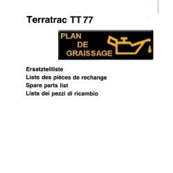 Aebi Terratrac Tt77 Liste Pieces Spare