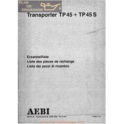 Aebi Tp45 Catalogue Piece