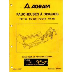 Agram Fd160 Fd200 Fd240 Fd280 Pieces