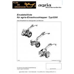 Agria 3200 Motoculteurs