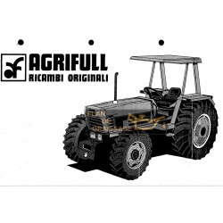 Agrifull 80 60 Ricambi Tracteur