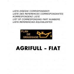 Agrifull List Corresponding Fiat Tracteur