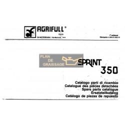 Agrifull Sprint 350 Tracteur