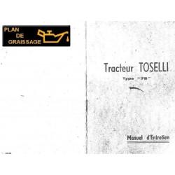 Agrifull Toselli 78 Manuel Entretien Chenillards