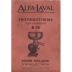 Alfa Laval B 10 Ecremeuse