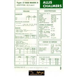 Allis Chalmers 2 1000 Mark Ii Chenillards