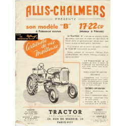 Allis Chalmers B 17 22 Cv