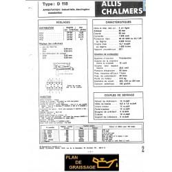 Allis Chalmers D 118