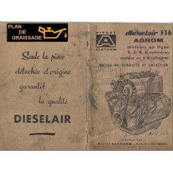 Alsthom 316 Dieselair Agrom