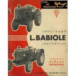 Babiole Super H Pieces Tractor