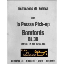 Bamfords Bl 30 Presse Pickup