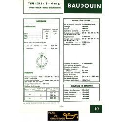 Baudouin Dk2 3 4 6 Moteur