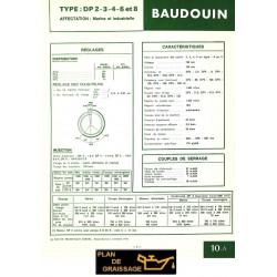 Baudouin Dp2 3 4 6 8 Moteur