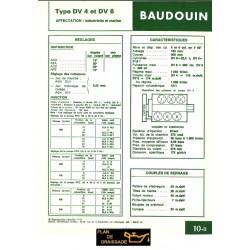 Baudouin Dv4 Dv6 Moteur