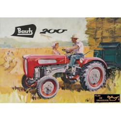 Bautz 200 Tracteur