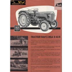 Bautz D43 8 Tracteur