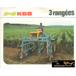 Bobard K68 3 Rangees
