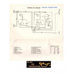 Bolinder Munktell T600 Schema Electrique