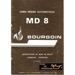 Bourgoin Md 8 Moissonneuses