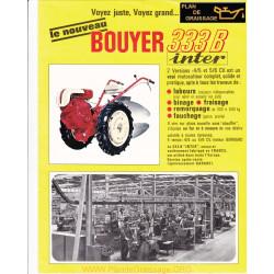 Bouyer 333 B Motoculteurs