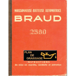 Braud 2580 Notice Entretien Moissonneuses