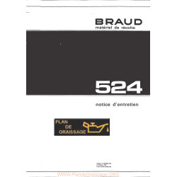 Braud 524 Grape Harvester