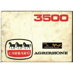 Carraro 3500 Notice